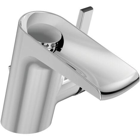Ideal Standard Mitigeur lavabo monocommande avec bec cascade, chromé (B8630AA)