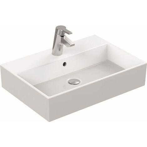 Ideal Standard STRADA Lavabo à poser 600 x 420 x 145 mm, blanc (K078101)