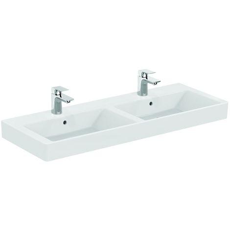 Ideal Standard STRADA Lavabo double 121 x 45,5 cm blanc (K079101)