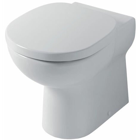 Ideal Standard Studio Back to Wall Toilet WC - Soft Close Seat White
