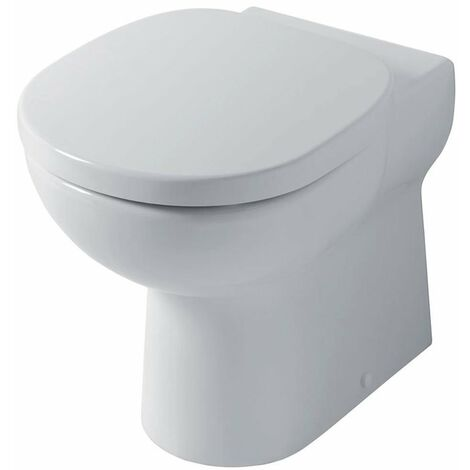 Ideal Standard Studio Back to Wall Toilet WC - Standard Seat White