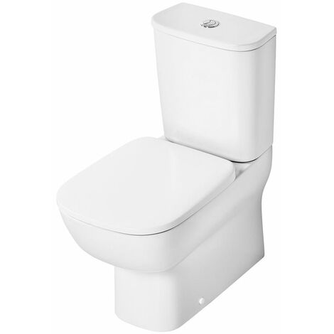 Ideal Standard Studio Echo Short Projection Close Coupled Toilet with 4/2.6 Litre Cistern - Soft Close Seat