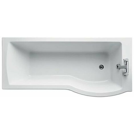 Ideal Standard Tempo Arc Idealform Plus 1700mm X 700mm/800mm Shower Bath Right Handed 0 Tap Hole