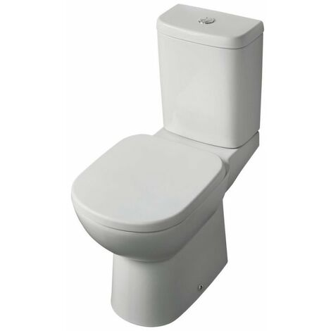 Ideal Standard Tempo Close Coupled Toilet with 6/4 Litre Push Button Cistern - Soft Close Seat