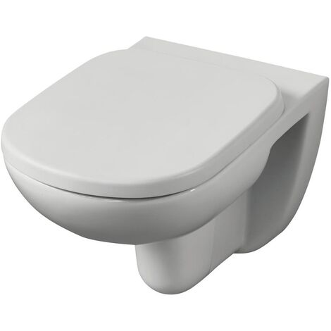 Ideal Standard Tempo Wall Hung Toilet 530mm Projection - Standard Seat and Cover