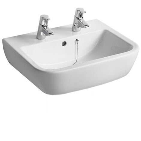 Ideal Standard Tempo Washbasin 550mm Wide 2 Tap Holes