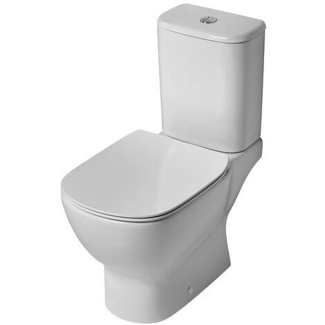 """main image of """"Ideal Standard Tesi Close Coupled Toilet with 6/4 Litre Cistern - Soft Close Seat and Cover"""""""