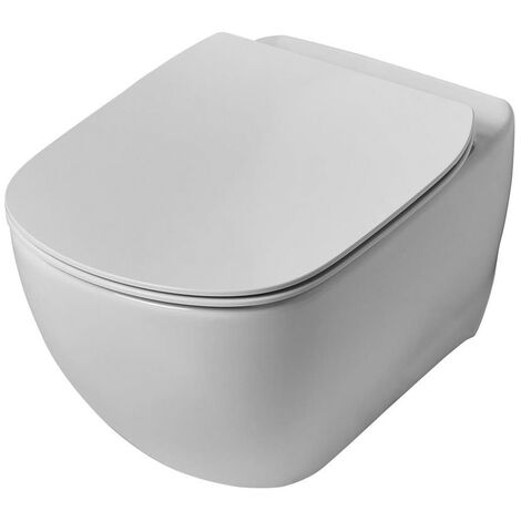 Ideal Standard Tesi Wall Hung Toilet - Standard Seat and Cover