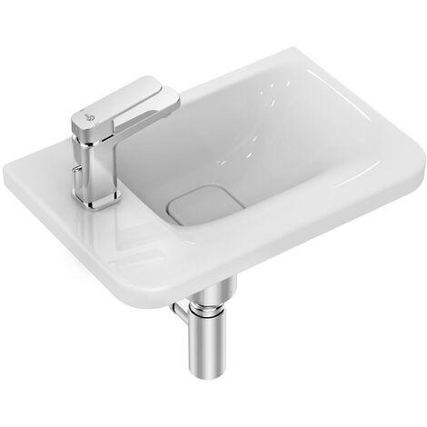 Ideal Standard Tonic 2 Asymmetric Washbasin 460mm Wide - Left Hand