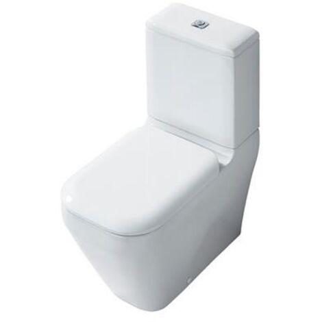 Ideal Standard Tonic 2 Close Coupled Toilet WC 4/2.6 litre Push Button Cistern - Soft Close Seat