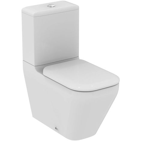 Ideal Standard Tonic II Combinación de lavabo independiente, AquaBlade, K3160, color: Blanco con Ideal Plus - K3160MA