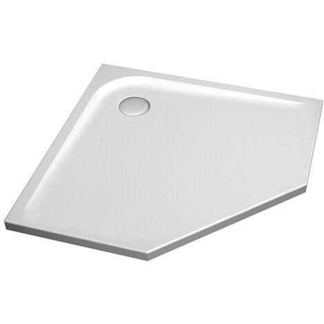Ideal Standard Ultra Flat Pentagonal baño de ducha 1000mm K1950 - K195001