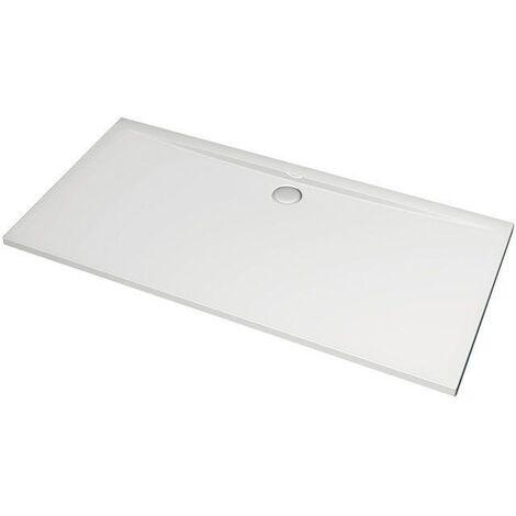 Ideal Standard Ultra Flat - Plateau rectangulaire de douche 1600 mm blanc