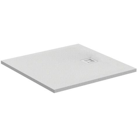 Ideal Standard Ultra Flat S Square shower tray 1000x1000mm, K8216, colour: slate - K8216FV