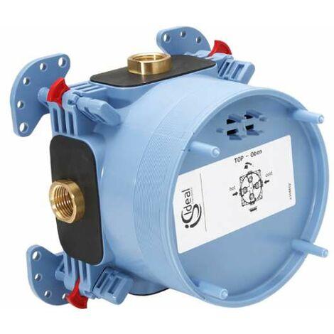 Ideal Standard Unterputz Bausatz 1 EASY Box für Bade- /Brausearmaturen und Einzelthermostat, A1000NU