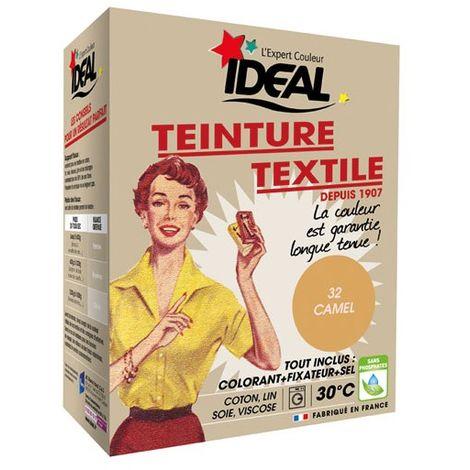 IDEAL - Teinture textile camel Tout en un - 350 g