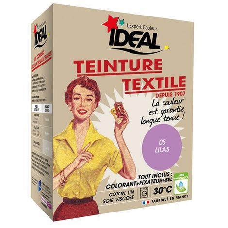 IDEAL - Teinture textile lilas Tout en un - 350 g