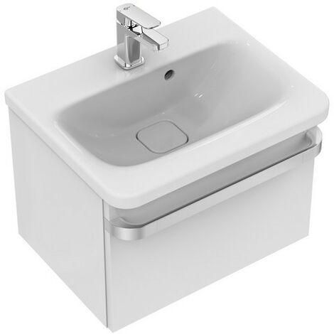 Ideale Standard TONIC II Vanity unit, 500 mm, 1 estraibile R4301, colorazione: Laccato lucido grigio chiaro lucido - R4301FA
