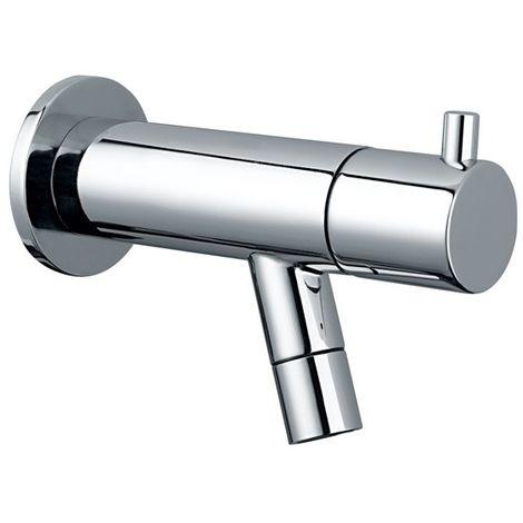 Idral Grifo lavabo minimal a pared 02102   cromado brillante