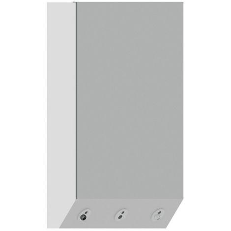 Idral Lavabo de pared multifuncional en solid surface 4ALL 10575 | Blanco brillo