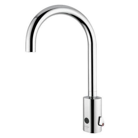 Idral Mezclador electronico lavabo coleción Curve 02505 | cromado brillante