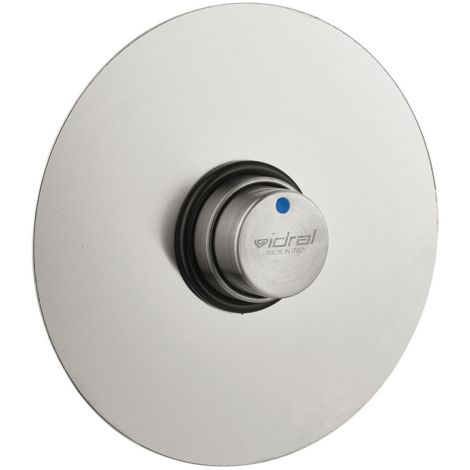 Idral rubinetto temporizzato Doccia da incasso in acciaio inox 08440 | Inox