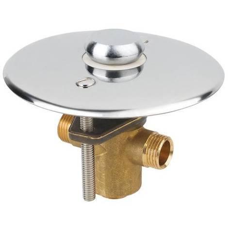 Idral Unterputz-Fussarmatur mit Selbstschlussfunktion | cromato lucido