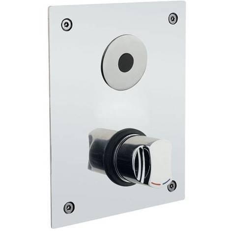 Idral Unterputz-Sensorarmatur mit Mischeinrichtung für Dusche serie ONE | cromato lucido