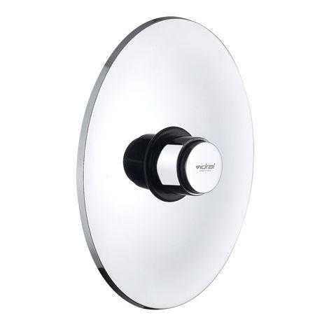 Idral Unterputz-WC-Druckspüler mit zeitgesteuerter Selbstschlußfunktion 08066-34   glänzend verchromt