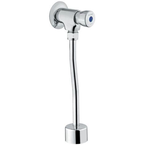 Idral Wandmontierte Selbstschlußarmatur für Urinal 08020/E   glänzend verchromt