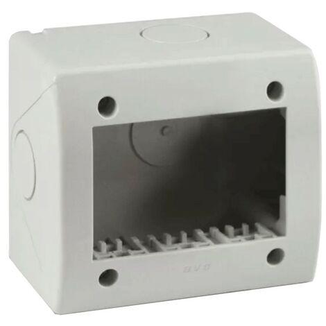 Idrobox Container Ave 3 modules pour tuyau RAL7035 IP40 44Q03