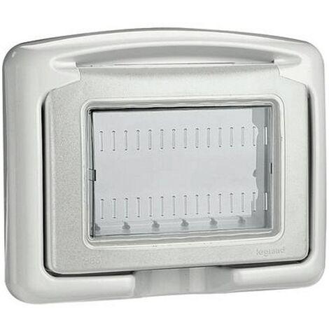 "main image of ""Idrobox Legrand per scatola 503 copertura stagna IP55 680633"""