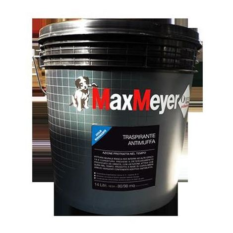 Idropittura Max Meyer Traspirante Antimuffa 14 litri