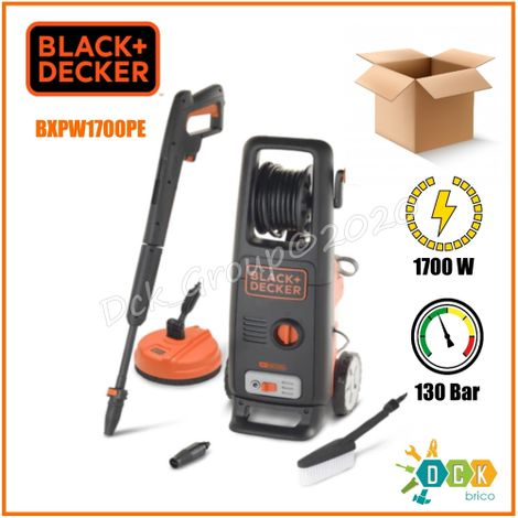 Idropulitrice Acqua Fredda 130 BAR 1700 WATT Black+Decker 420 L PW1700PE