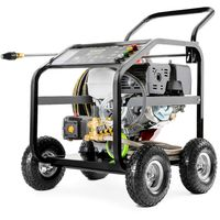 Idropulitrice motore a benzina 20cv 331 BAR 4800PSI alta pressione -Greencut