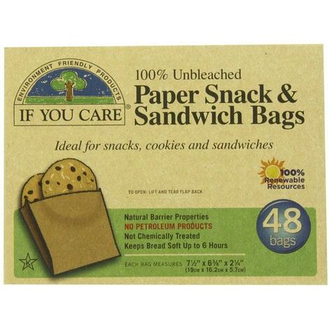 """main image of """"If You Care Sandwich Bags - 48 Bags - 66570"""""""