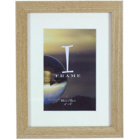 iFrame Light Oak Wood Effect Frame 4' x 6'