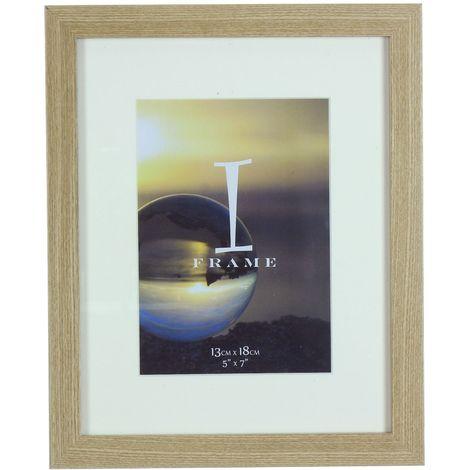iFrame Light Oak Wood Effect Frame 5' x 7'