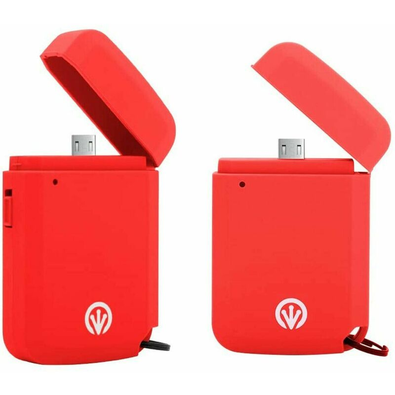 Image of Power Golite Express Micro USB 700mAh Portable Charger - Red - Ifrogz