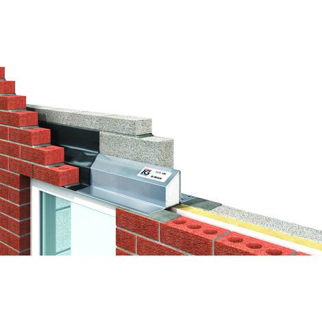 IG L1/S 100 Standard Structural Steel Lintel 1800mm