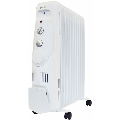 Igenix IG2650 Oil Filled Radiator, 2500W