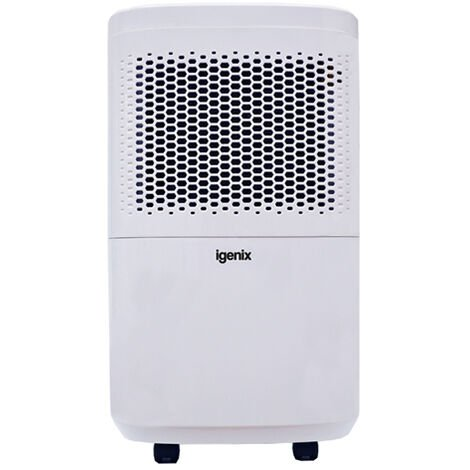 Igenix IG9813 Portable Dehumidifier, Extracts 12 Litre/Day