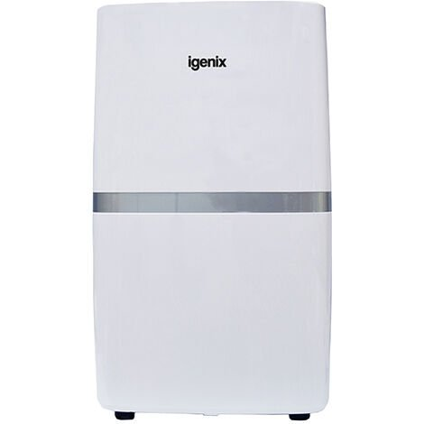 Igenix IG9821 Portable Dehumidifier, Extracts 20 Litre/Day