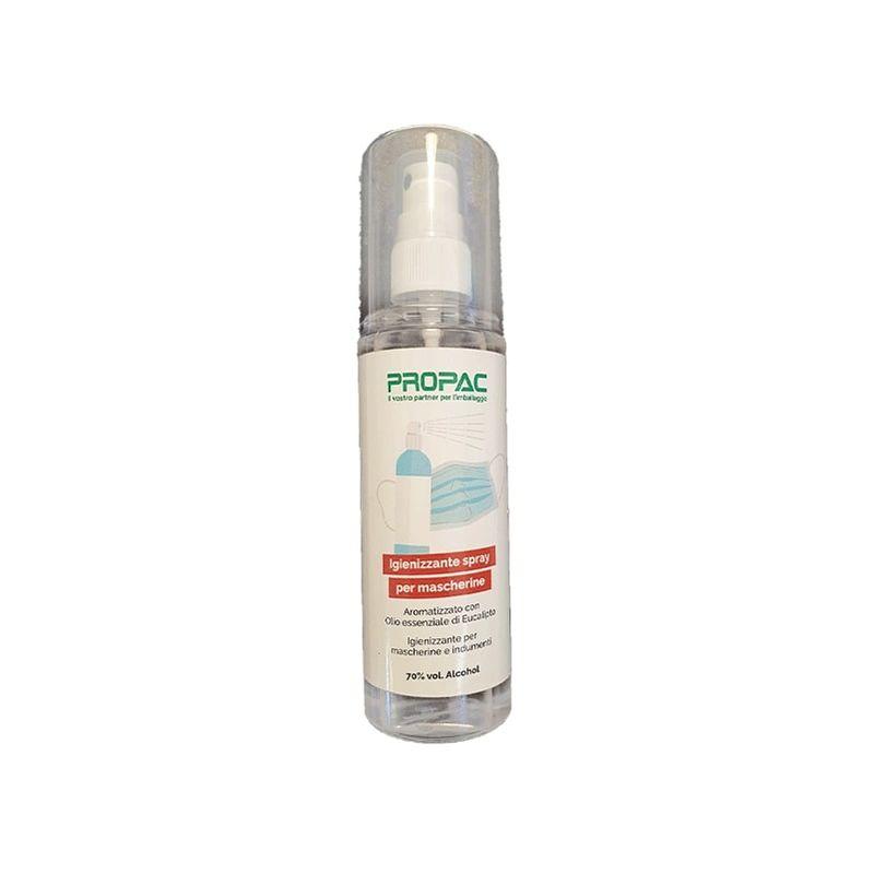 Image of Igienizzante spray per mascherine 70% di alcool 125 ml Confez. da 10 pz. Capacità ml 125 Tipo Igienizzante
