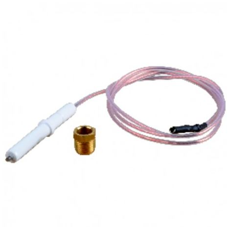 Ignition electrode and cable - DIFF for Chaffoteaux : 340261