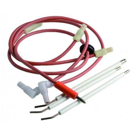 Ignition electrode flame sensing probe - DE DIETRICH : 97955210