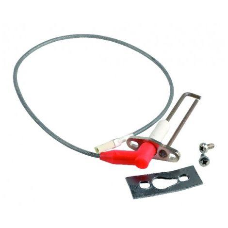 Ignition electrode + wire - DE DIETRICH : S100604