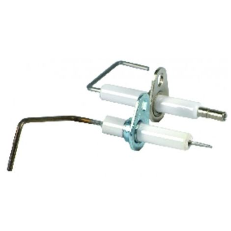 Ignition/flame sensing electrode kit - FERROLI : 39808800
