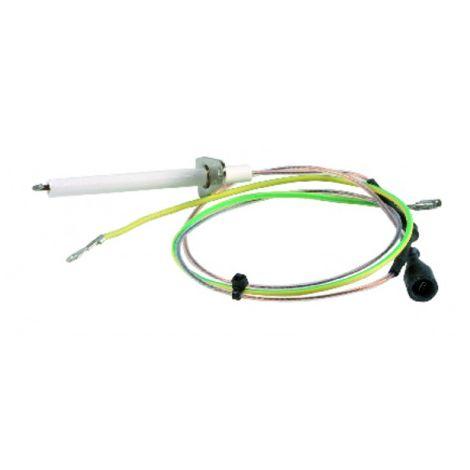 Ignition / flame sensing electrode - RIELLO : 4364852