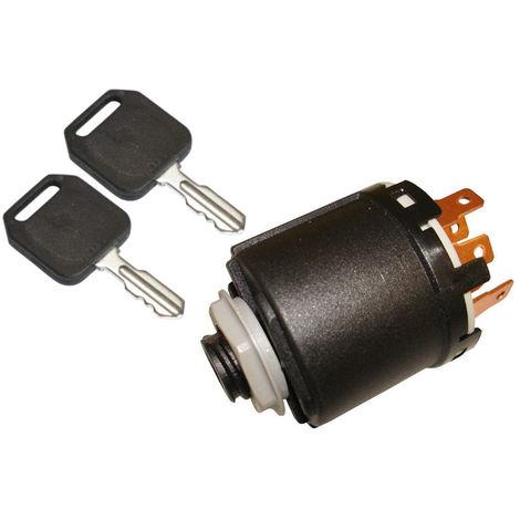 Ignition Switch With 2 Keys Fits Stiga Park 2000 And Stiga Villa 2001